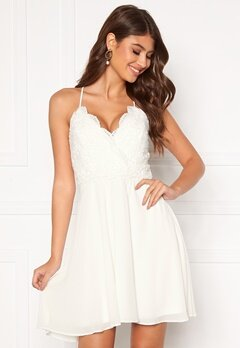 Chiara Forthi Bella dress White Bubbleroom.se