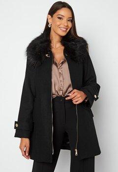 Chiara Forthi Bellance short coat Black Bubbleroom.se