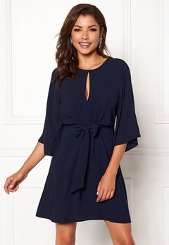 Chiara Forthi Bellora dress Midnight blue Bubbleroom.se
