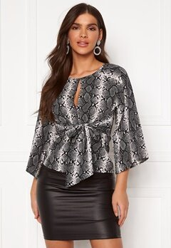 Chiara Forthi Bellora top Animal print Bubbleroom.se