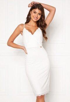 Chiara Forthi Berenice lace dress White Bubbleroom.se
