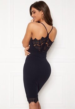 Chiara Forthi Bexy lace dress Dark blue Bubbleroom.se