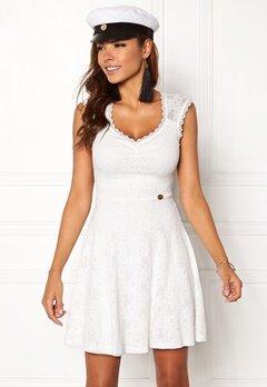Chiara Forthi Biana Lace Dress White Bubbleroom.se