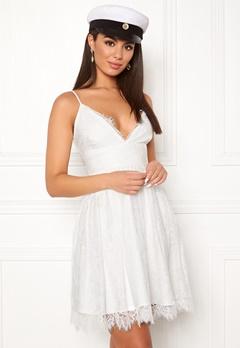 Chiara Forthi Blossom lace dress White Bubbleroom.se