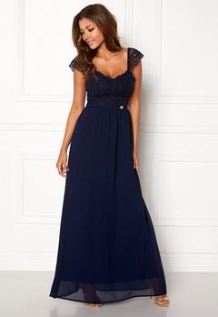Chiara Forthi Brianna Gown Dark blue Bubbleroom.se