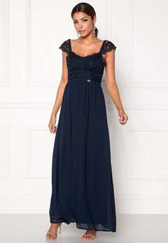 Chiara Forthi Brianna Gown  Dress Dark blue Bubbleroom.eu