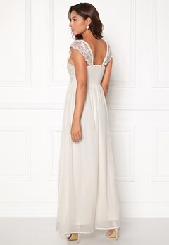 Chiara Forthi Brianna Gown  Dress Offwhite Bubbleroom.eu
