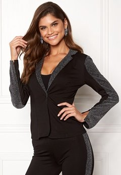 Chiara Forthi Brillante suit jacket Black / Glitter Bubbleroom.se
