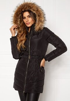Chiara Forthi Campitello Padded Jacket Black Bubbleroom.se