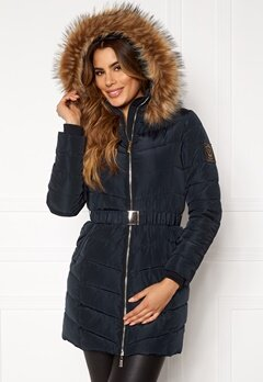Chiara Forthi Campitello Padded Jacket Navy Bubbleroom.se