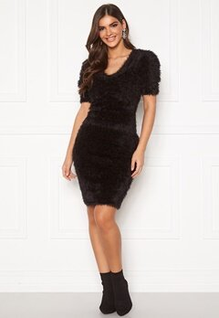 Chiara Forthi Cara furry skirt  Black Bubbleroom.se