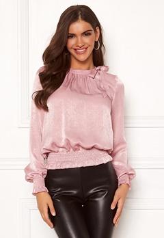 Chiara Forthi Carolyne bow top Pink Bubbleroom.se