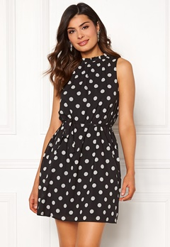 Chiara Forthi Caruso dress Dotted   Black   White Bubbleroom.se 0c286bcb3edd8