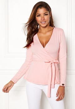 Chiara Forthi Cashmere-Feel Cozy Wrap Light pink Bubbleroom.no