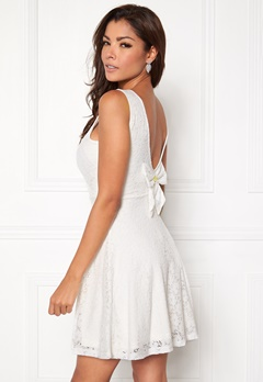 Chiara Forthi Celinne Dress White Bubbleroom.se