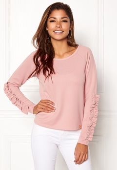 Chiara Forthi Ceria Top Dusty pink Bubbleroom.se