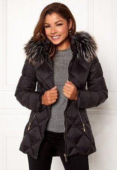 Chiara Forthi Cervina Down Jacket Black Bubbleroom.se