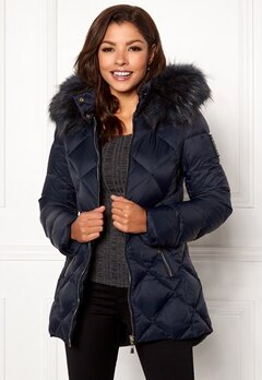 Chiara Forthi Cervina Down Jacket Navy Bubbleroom.se