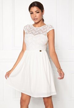 Chiara Forthi Chasmine Dress Winter white Bubbleroom.dk