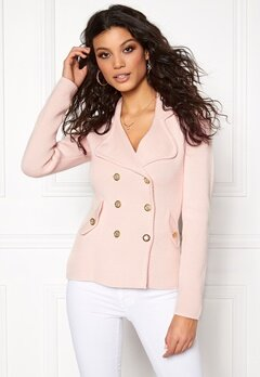 Chiara Forthi Chiara Heavy Knit Jacket Light pink Bubbleroom.eu