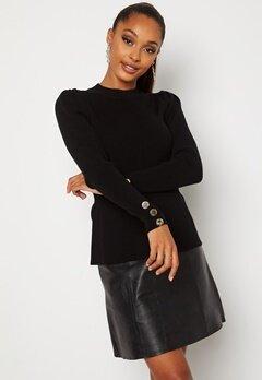 Chiara Forthi Claudina sweater Black Bubbleroom.se