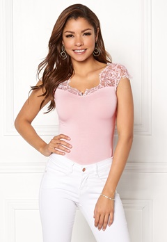 Chiara Forthi Clea Top s/s Light pink Bubbleroom.se