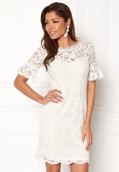 Chiara Forthi Cloelle Lace Dress Antique white Bubbleroom.se
