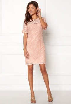 Chiara Forthi Cloelle Lace Dress Old rose Bubbleroom.fi
