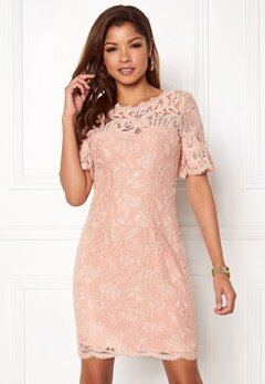Chiara Forthi Cloelle Lace Dress Old rose Bubbleroom.se b97b8ffd14b4b