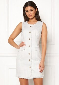Chiara Forthi Cici bouclé dress Winter white Bubbleroom.se