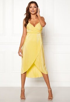 Chiara Forthi Corinne dress Yellow Bubbleroom.se