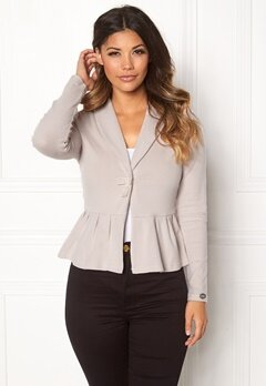 Chiara Forthi Cozy Bow Cardi Light mole Bubbleroom.fi