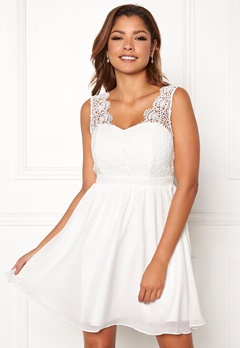 Chiara Forthi Daisy dress White Bubbleroom.se