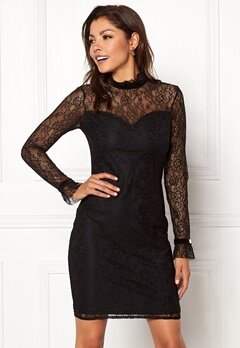 Chiara Forthi Dayanara dress Black Bubbleroom.se