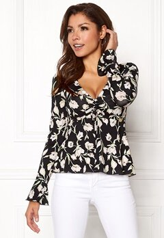 Chiara Forthi Deidre Top Black / Pink / Green Bubbleroom.se