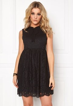 Chiara Forthi Devon Dress Black Bubbleroom.no
