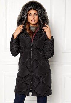 Chiara Forthi Dolomiti quilted jacket Black Bubbleroom.se