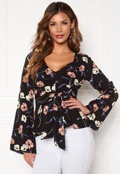 Chiara Forthi Domenica blouse Black Bubbleroom.se