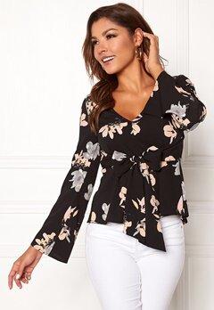 Chiara Forthi Domenica blouse Black / Floral Bubbleroom.se