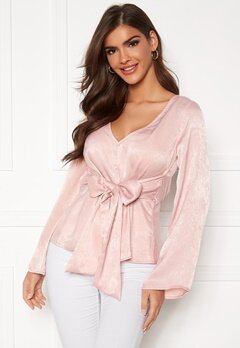 Chiara Forthi Domenica blouse Dusty pink Bubbleroom.se