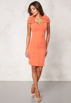 Chiara Forthi Domitille Dress Apricote Bubbleroom.no