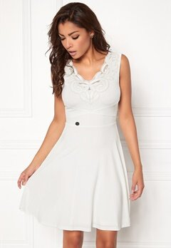 Chiara Forthi Eden Skater Dress Antique white Bubbleroom.no