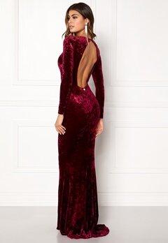 Chiara Forthi Editta Velvet Gown  Bubbleroom.no