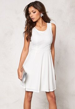 Chiara Forthi Elissa Dress White Bubbleroom.no