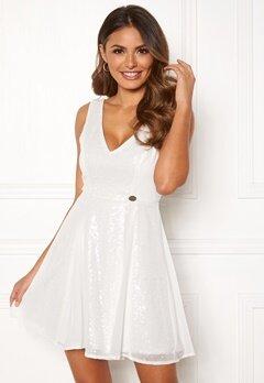 Chiara Forthi Eliza sequin dress White Bubbleroom.se