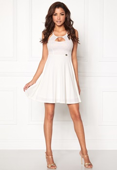 Chiara Forthi Ellerie Skater Dress White Bubbleroom.no