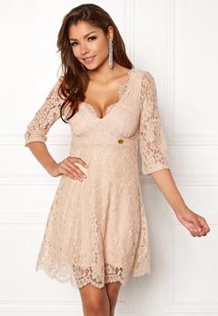 Chiara Forthi Ellix Dress - 2 Beige Bubbleroom.se