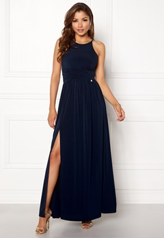 Chiara Forthi Erica Maxi Dress Dark blue Bubbleroom.se