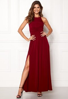 Chiara Forthi Erica Maxi Dress Wine-red Bubbleroom.se