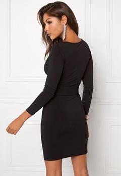 Chiara Forthi Escape  Belted Dress Black / Gold Bubbleroom.eu